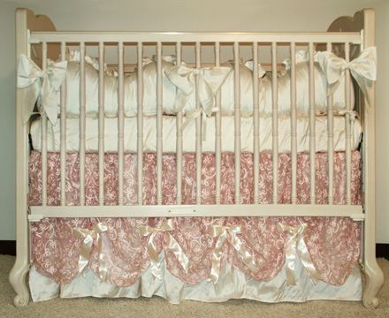 Anastasie Bedding On 200 Country French Rectangular Crib