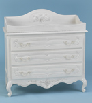 Country French Dresser with Changing Tray
